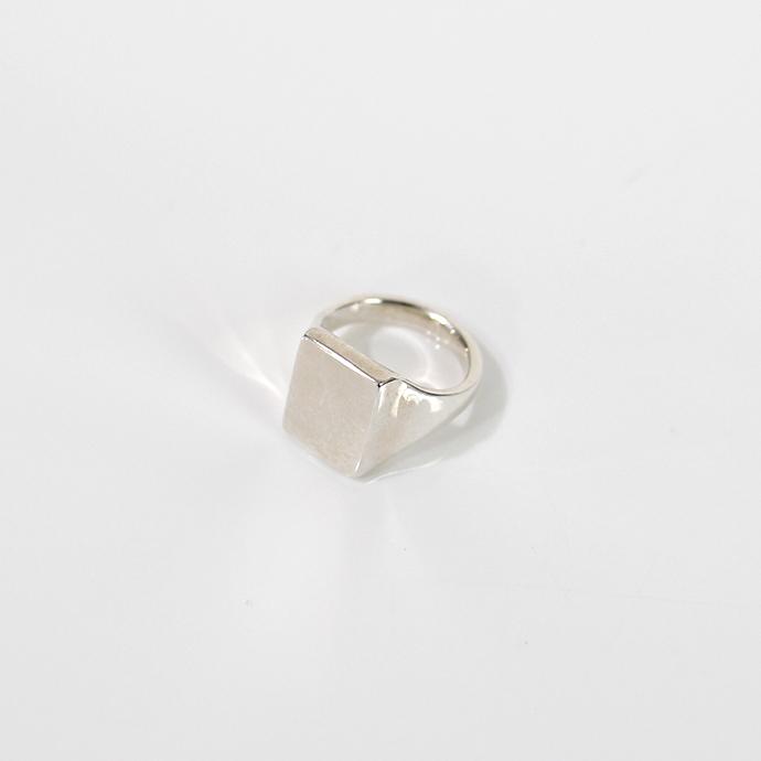 UNKNOWN.(アンノウン) silver925 U022 4SIGNET リング M / シルバー■人気 おしゃれ シルバーリング 指輪 プレゼント ギフト シンプル 女性 誕生日プレゼントデイリーカジュアル