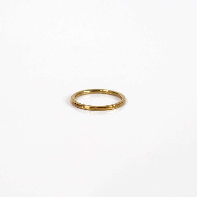UNKNOWN.(アンノウン) k10 U028 LOW リング / ゴールド■10金 ゴールドアクセサリー 指輪 プレゼント ギフト シンプル ユニセックス 女性 男性 誕生日プレゼント