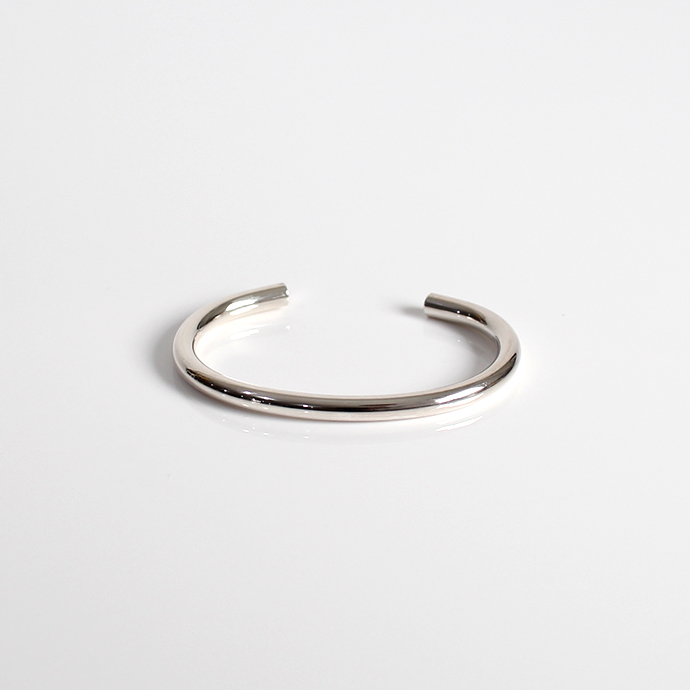 UNKNOWN.(アンノウン) silver950 U228 NORM バングル 5mm / シルバー■シルバー シルバーアクセサリー 誕生日 プレゼント ギフト シンプル 女性 ブレスレット レディース 人気 おしゃれ