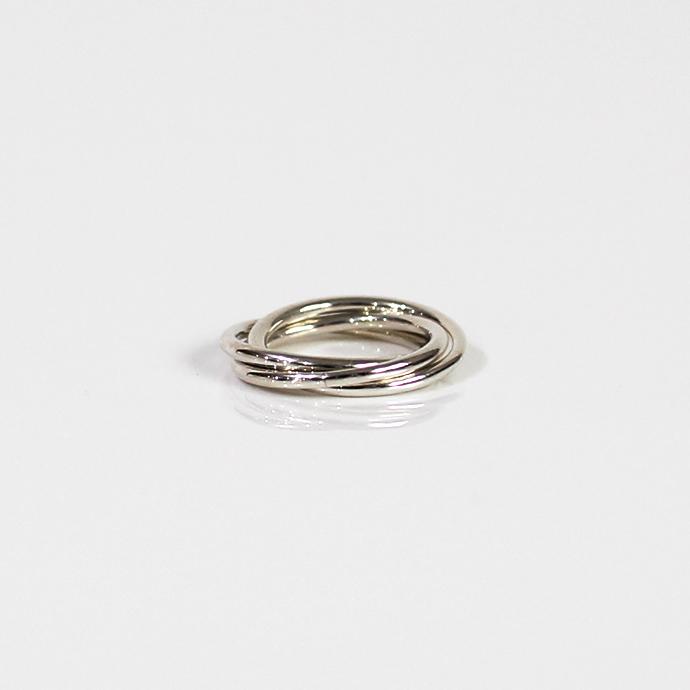 UNKNOWN.(アンノウン) silver925 U523 TRIPLE リング S / シルバー■ シルバーアクセサリー 指輪 プレゼント ギフト シンプル ユニセックス 女性 男性 誕生日プレゼント クリスマスプレゼント