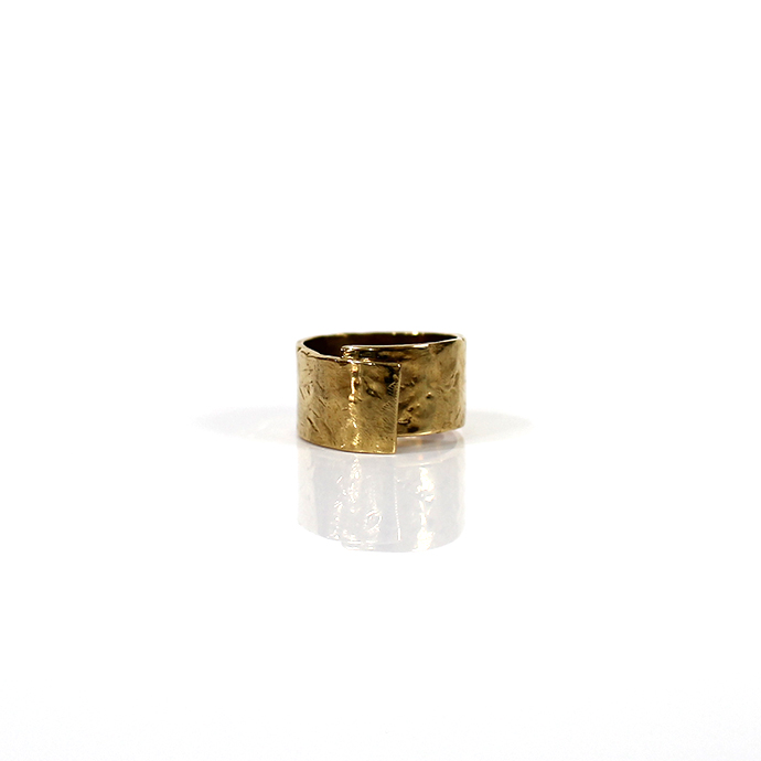 12/20 20:00~23:59 UNKNOWN.(アンノウン) U048 ABSTRACT2 リング / 真鍮■ブラス ゴールドアクセサリー 指輪 プレゼント ギフト シンプル 男女兼用 女性 男性 誕生日プレゼント クリスマスプレゼント