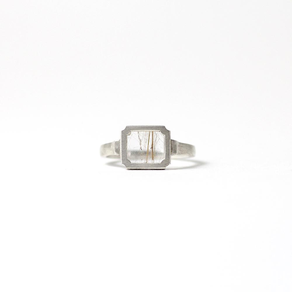 yum. / silver N-agnostick リング 9 S / N2-agnostick-S-SV-9■指輪 シルバーリング シルバーアクセサリー シンプル クリスマスプレゼント パワーストーン
