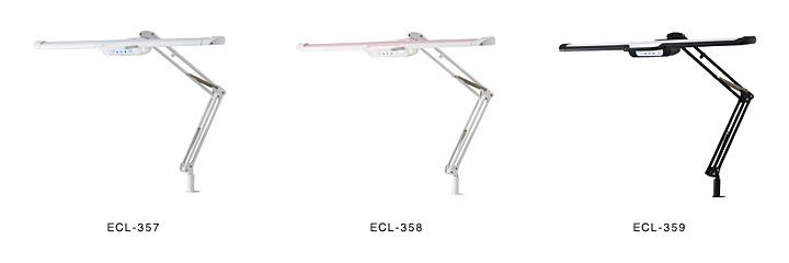 デスクライト LED コイズミ ECL-357 ECL-358 ECL-359【正規販売店 メーカー保証3年】 目に優しい 電気スタンド クランプ 学習机 学習用 おしゃれ 勉強用 ギフト SB-357 SB-358 SB-359 小学校