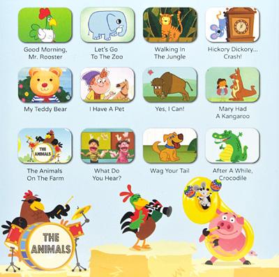 Super Simple Songs Animals Dvd Animal Ed Song Kids Children