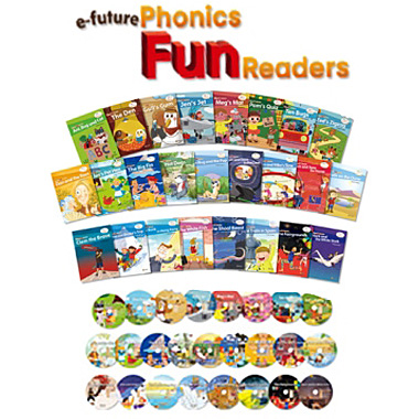 英語 CD 本 Phonics Fun Readers Full Set 25冊 CD付 【購入者特典GoomiesDVD】 幼児 フォニックス・ファン・リーダーズ フルセット 子供 絵本 英語教材 児童 英語絵本 英会話教材 子ども 読み聞かせ ポイント2倍