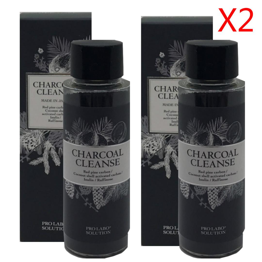 Esthe Pro Labo CHARCOAL CLEANSE エステプロラボ チャコールクレンズ ラフィノース デトックス36g*2 送料無料