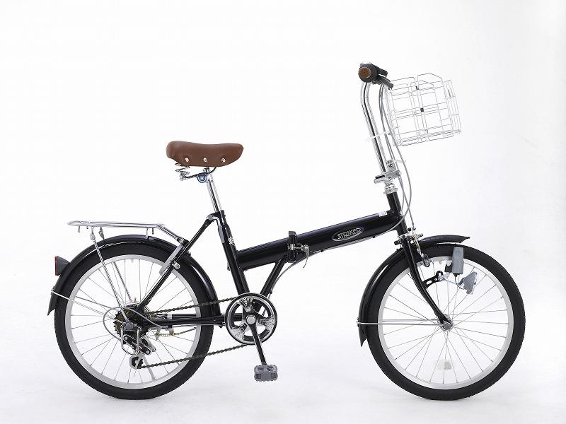 ノーパンク20インチ・折りたたみ自転車
