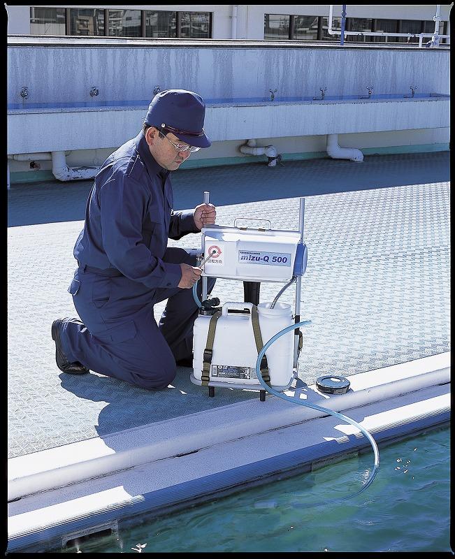 手動式浄水器 <mizu-Q500>
