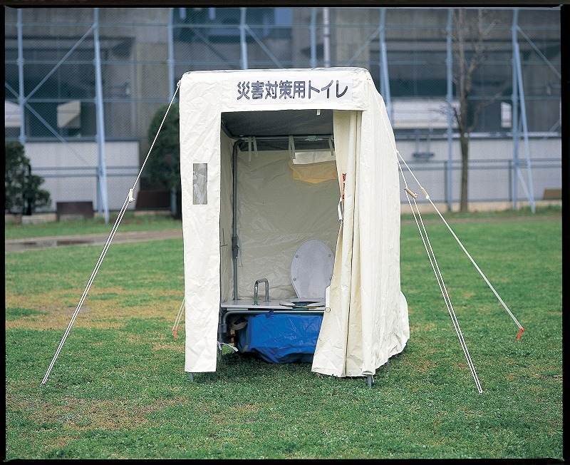 災害対策仮設トイレ ベンチャー(洋式)