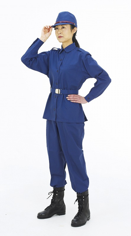 【70%OFF】 Mブレバノ防災服(女性用)(ネイビー) M, オリジナルショップ三幸:649421a6 --- nba23.xyz