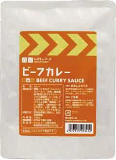 レスキューフーズ ビーフカレー 【24食入】
