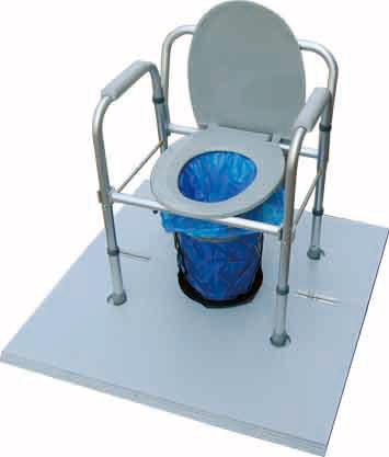 災害時用マンホール対応トイレ