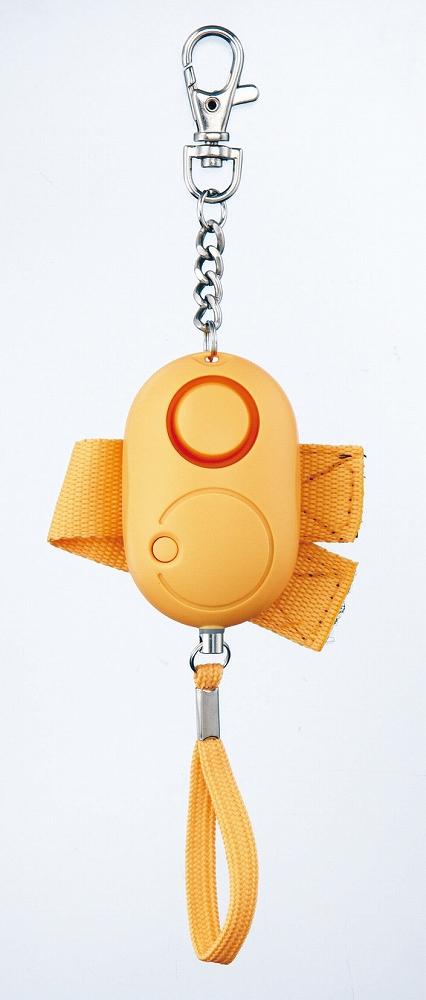 マーケティング 防災関連グッズ 激安 激安特価 送料無料 雨の日にも持ち歩ける生活防水タイプ ベルト ボタン付非常用ブザー イエロー