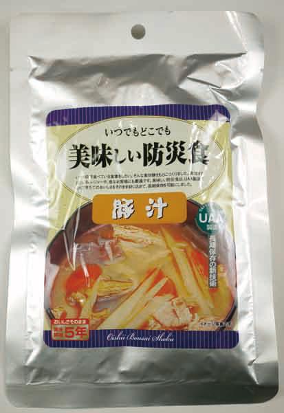 ★最安値挑戦中!美味しい防災食 豚汁 【50食入】
