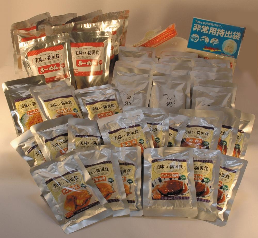 美味しい防災食βセット ファミリーセット FS-34 (3人×3日分)