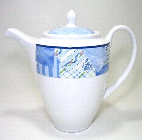 ウェッジウッド・インディゴ コーヒーポット 1L