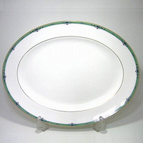 フジオカシ 39cmオーバルウェッジウッド・ジェード 39cmオーバル, FEDE SELECT SHOP:b7557bd6 --- rudypaoluccidds.com
