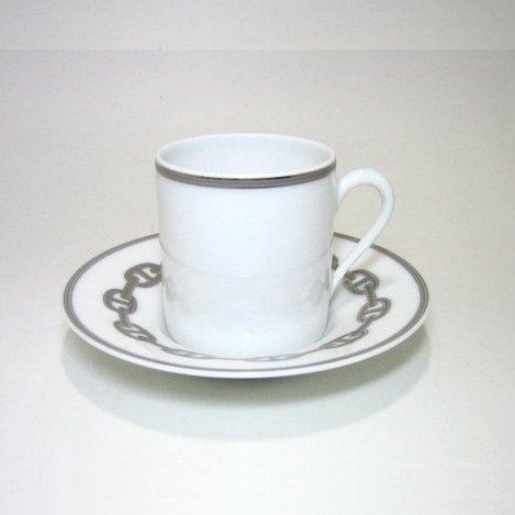 エルメス・シェーヌダンクルプラチナ コーヒーC/S