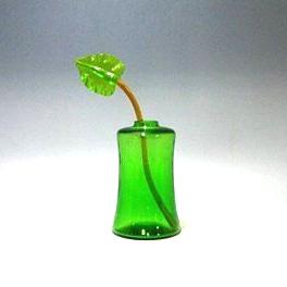 サルビアティ ヴェネチアン ラゲステル ベース・グリーン H21cm