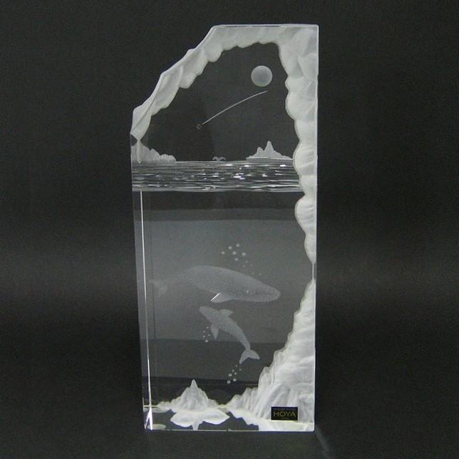 ホヤ 【クリスタル・オブジェ】 ドリームランズケープ  H21cm