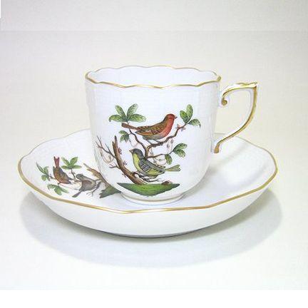 ヘレンド・ロスチャイルドバードRO コーヒーC/S707