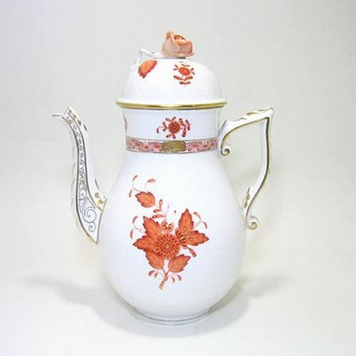 ヘレンド・アポニーオレンジAOG コーヒーポット612 1.2L
