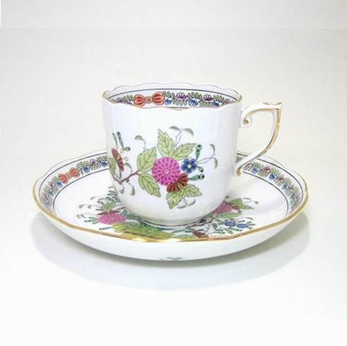 ヘレンド・インドの華多彩色FD コーヒーC/S707