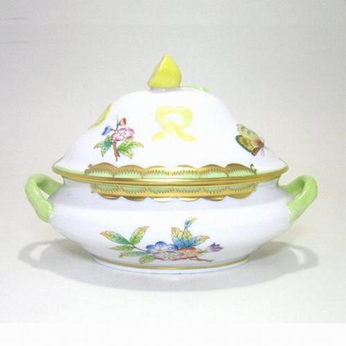 ヘレンド・ヴィクトリアブーケVBO レモンBox6017 W13cm