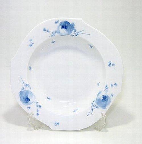 マイセン・青い花・614701 23.5cmスーププレート・28488