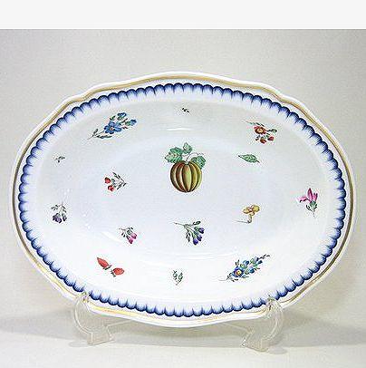 リチャードジノリ・イタリアンフルーツ 25cmオーバルディープディッシュ