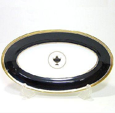 欲しいの リチャードジノリ・インペロブラック 23cmオーバルディッシュ, belle belle:68b3f36a --- supercanaltv.zonalivresh.dominiotemporario.com