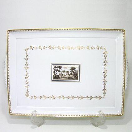リチャードジノリ・インペロフィレンツェ 31cmスクェアトレイ