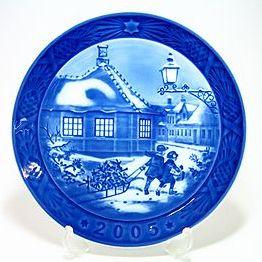 ロイヤルコペンハーゲン・イヤープレート 2005年 アンデルセン生家