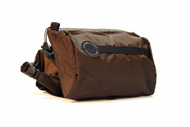 【新品】 FAIRWEATHER(フェアウェザー) Handle Bar Bag(ハンドルバーバッグ) Brown(ブラウン)