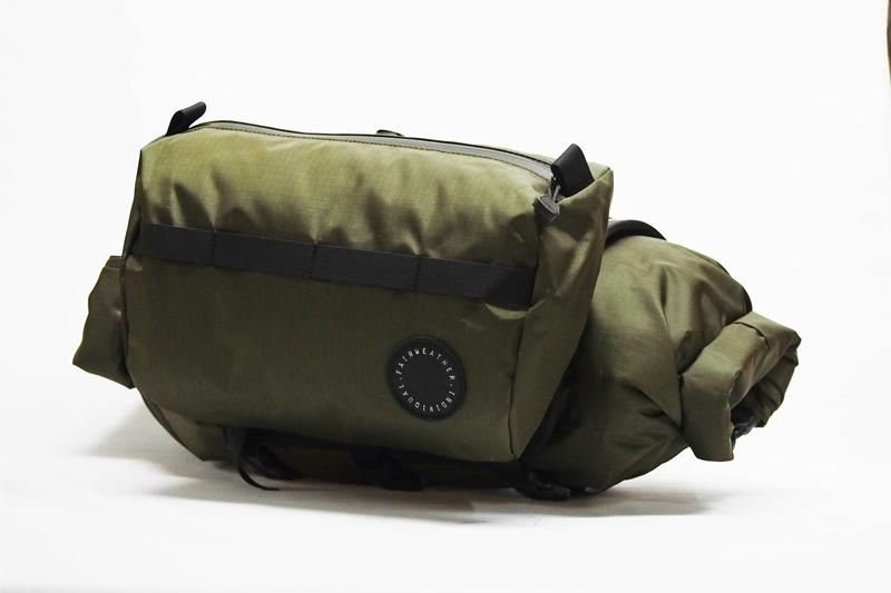 FAIRWEATHER(フェアウェザー) HANDLEBAR BAG +(ハンドルバーバッグプラス) Olive(オリーブ)