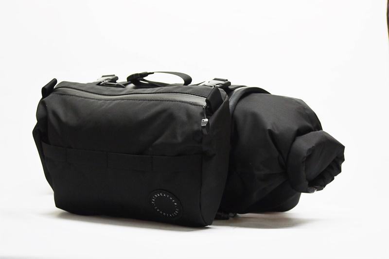 FAIRWEATHER(フェアウェザー) HANDLEBAR BAG +(ハンドルバーバッグプラス) Black(ブラック)
