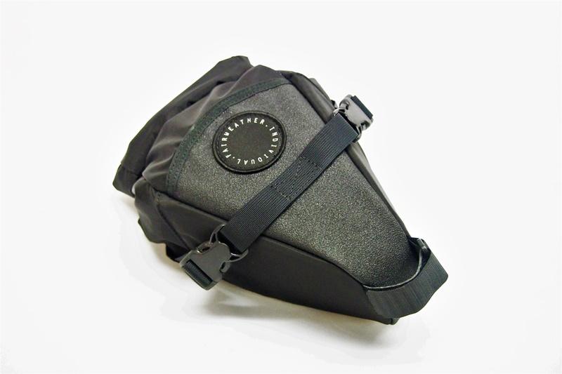 FAIRWEATHER(フェアウェザー) SEAT BAG MINI(シートバッグミニ) Black