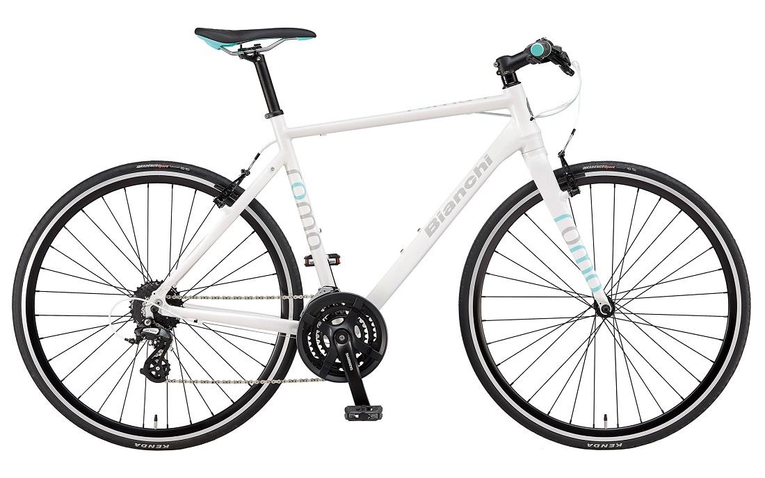 【2019年モデル】BIANCHI(ビアンキ) ROMA 4(ローマ4)サイズ:43 カラー:White【プロの整備士による整備組付済】クロスバイク【今出川京大前店別館】