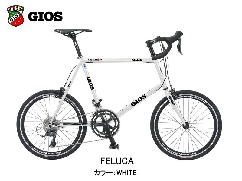 【2020年モデル】GIOS(ジオス) FELUCA(フェルーカ)カラー:WHITE【プロの整備士による整備組付済】ミニベロ【今出川京大前店別館】