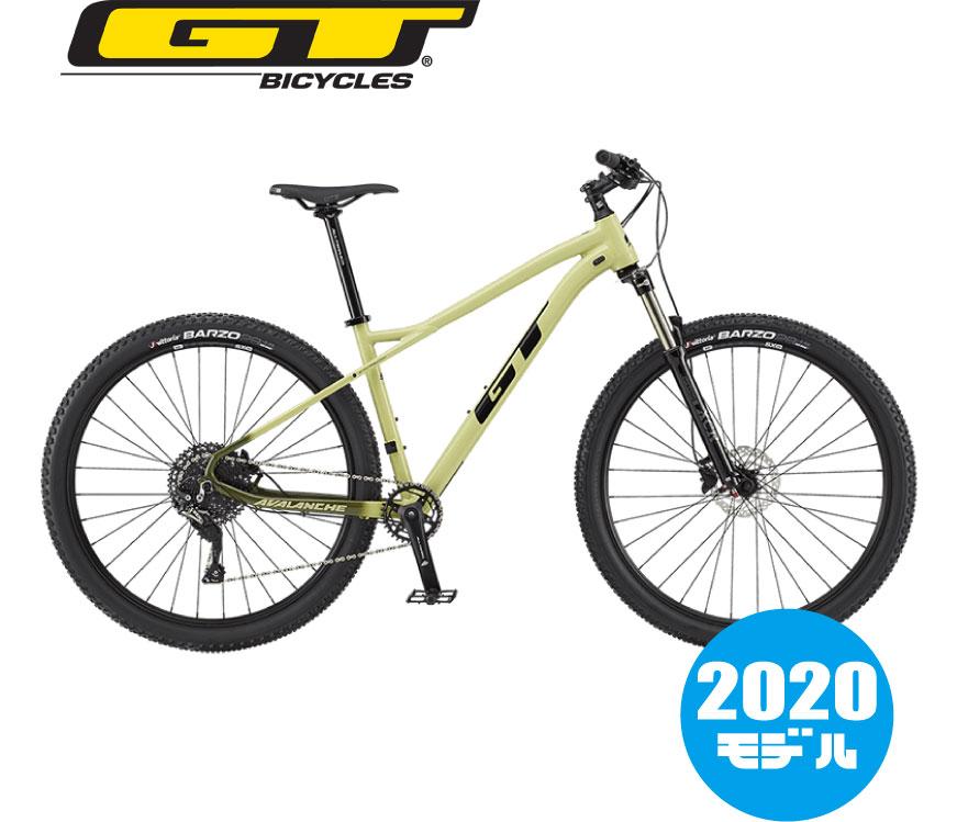 【2020年モデル】GT(ジーティー) AVALANCHE ELITE(アバランチェエリート)モスグリーン マウンテンバイク
