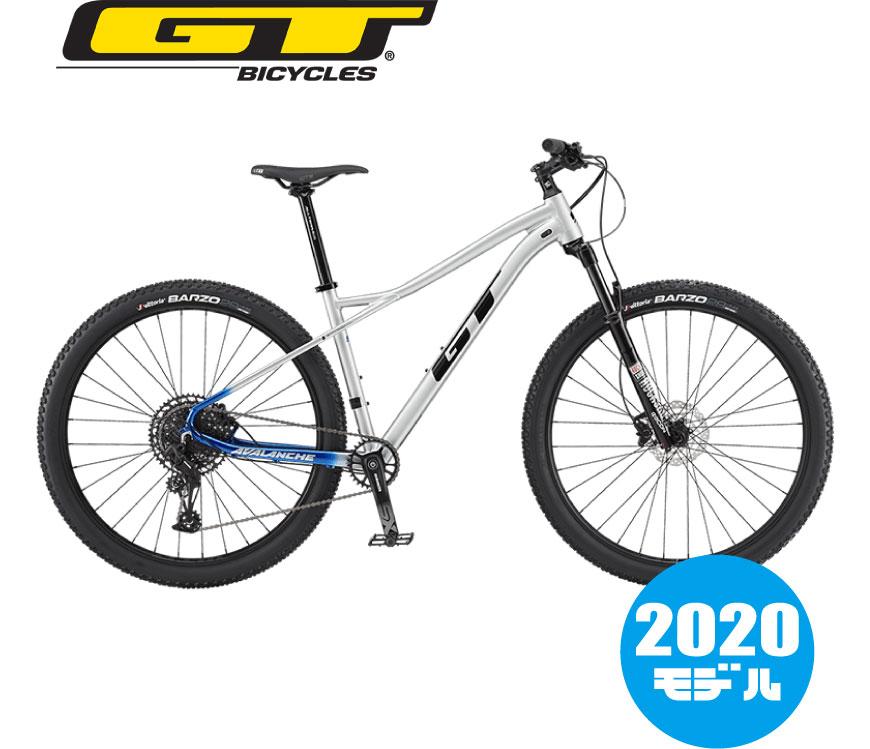 【2020年モデル】GT(ジーティー) AVALANCHE ALLOY EXPERT 27.5(アバランチェアロイエキスパート27.5)シルバー マウンテンバイク