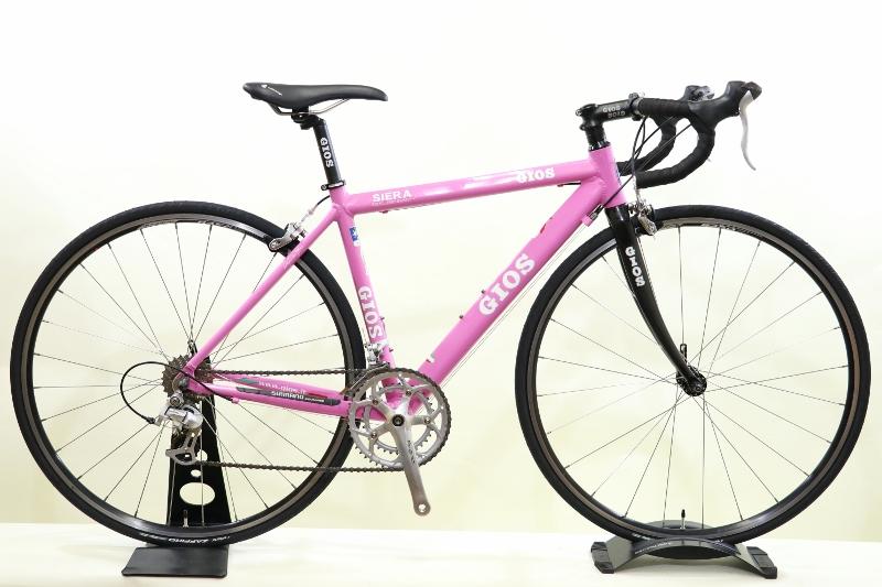 【中古】【2010年モデル】GIOS(ジオス) SIERA(シエラ)【プロの整備士による整備組付済】ロードバイク【今出川店別館展示中】