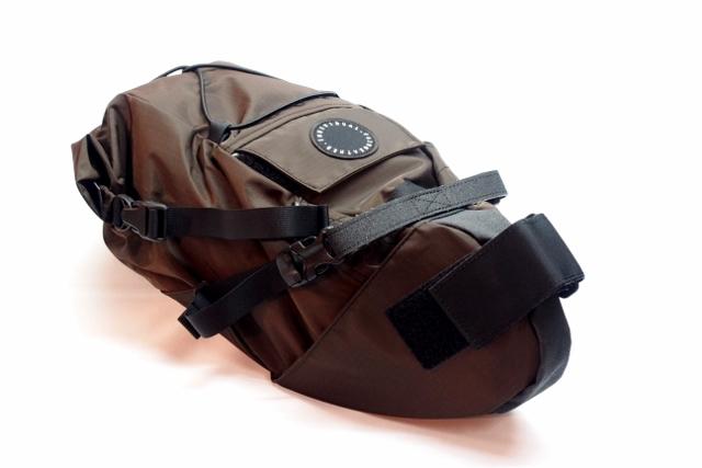 【新品】【送料無料】 FAIRWEATHER(フェアウェザー) SEAT BAG(シートバッグ)ブラウン
