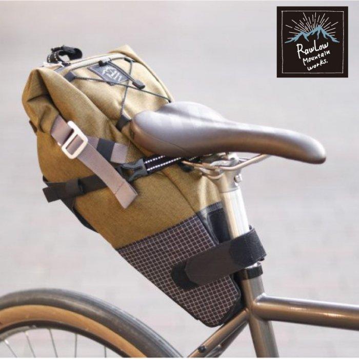 背負える便利な大容量サドルバッグ 【新品】【送料無料】【Rawlow Mountain works / ロウロウマウンテンワークス】 Bike'n Hike post Bag (バイクンハイクポストバッグ)