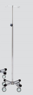 アズワン ナビス イルリガードル台 IG-4FC 4本丸脚(キャスター大)(0-4585-06)
