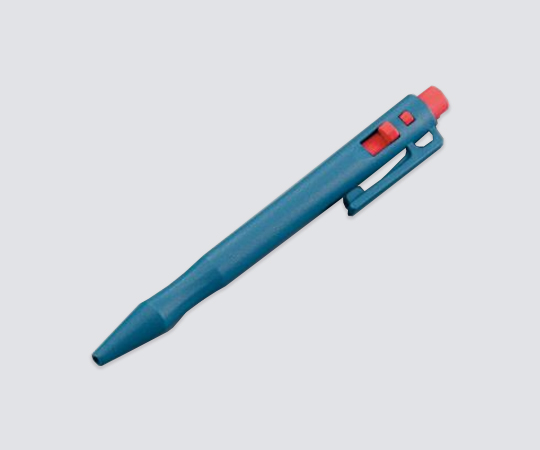 アズワン プラスメタルボールペン 50本入 ノック式 ブルー 101-I11-C13-A01 (2-3165-51)