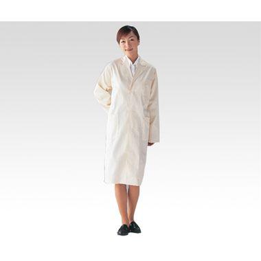 帝健 耐熱耐薬品白衣 CCA1 L (1-6174-01)