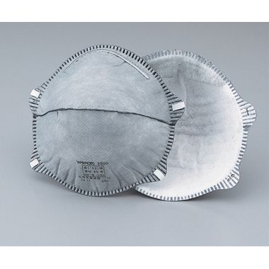 山本光学 使い捨て式防塵マスク 3600-A 20枚入(1-6211-02)