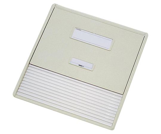 LIHITLAB カードインデックス A3/A4(縦2面) 10名用 オフホワイト HC113C-1 (0-042-01)