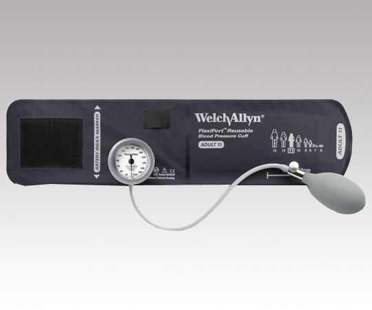 ウェルチ・アレン アネロイド血圧計 デュラショック・ゲージ一体型 成人用(中) DS44-11 (0-1450-33)
